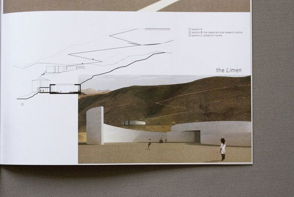 Architecture portfolio design by Giacomo Magnani, via Behance