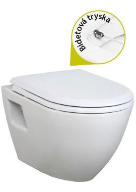 KOMPLETNÉ ŠPECIFIKÁCIE  POPIS: zavesné wc s bidetom - TEKKO TP325 v sebe spája toaletu a bidet v jednej keramike. Ide o model vyššej triedy závesných WC+BIDET 2v1. Jeho moderný vzhľad bude ozdobou každej modernej kúpeľne. Tento model patrí k najpredávanejším modelom WC+BIDET 2v1. Jedná sa o úsporné riešenie intímnej hygieny vhodné pre mužov, ženy aj deti.