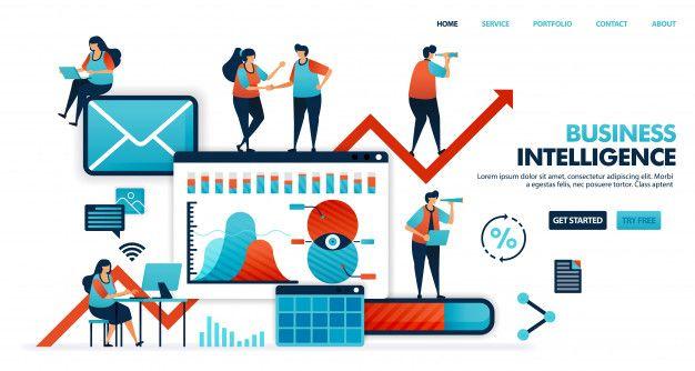 Business Intelligence Or Bi To Analyze Need Desire Habit Of