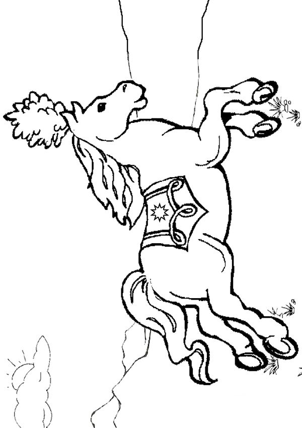 free carousel coloring pages - photo#26