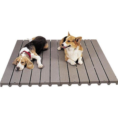 PetEdge Molded Plastic Dog Kennel Deck, 8-1/2-Pound - http://www.thepuppy.org/petedge-molded-plastic-dog-kennel-deck-8-12-pound/