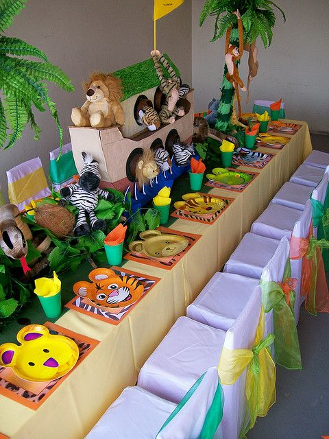 """In the Jungle"" by Treasures and Tiaras Kids Parties, via Flickr"