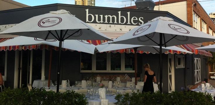 Bumbles cafe Budds Beach Surfers Paradise Australia awesome spot.