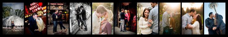Seattle Engagement Photos. Space Needle, Pike Place Market, Arboretum.  Great engagement photo poses.  By PS Photography & Video @BridesClub #TacomaSpringWeddingExpo