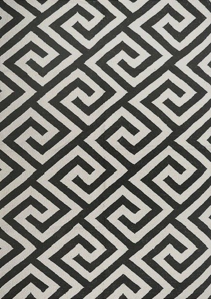 Layered's Greek Key rug has a traditional greek key pattern. Used by the ancient Greeks already, it is a timeless piece of design. The pattern got its name from the square pieces in the pattern that look rather like keys. Free worldwide delivery. See more at: http://layeredinterior.com/product/greek-key/#sthash.1I4uLYUQ.dpuf