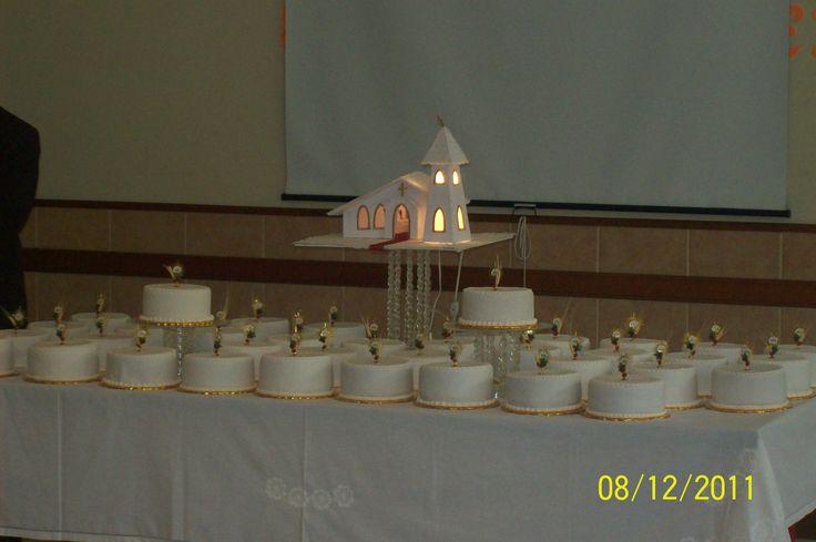 hice la capilla con luces