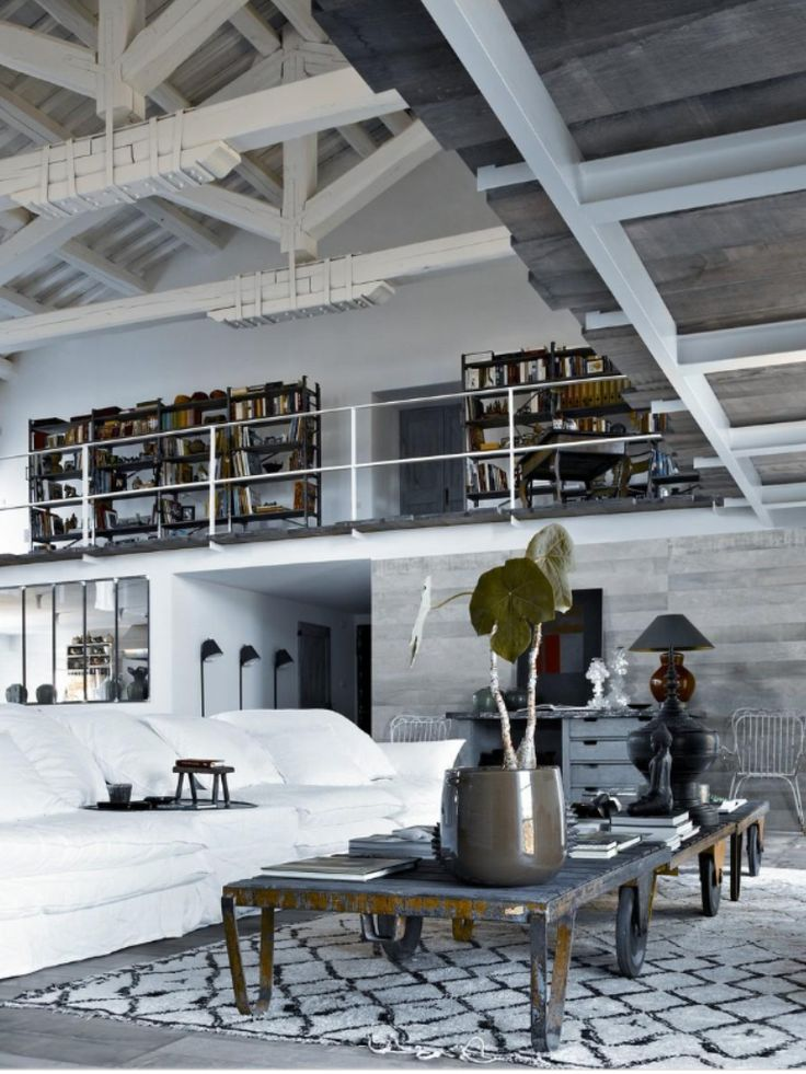 Loft Loft, ideas, home, house, apartment, decor, decoration, indoor, interior, modern, room, studio.