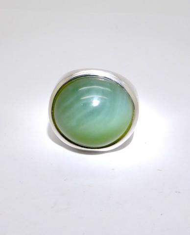 Jade Cat's Eye ring