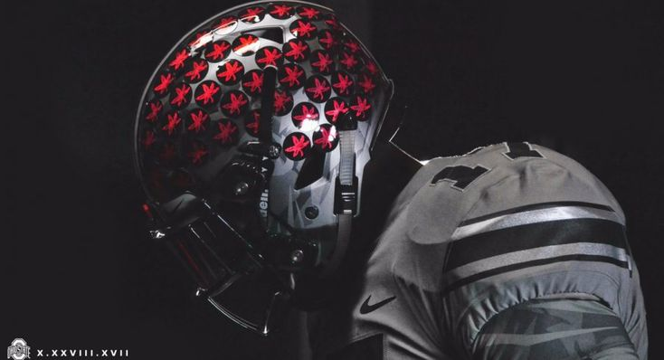 Ohio State released more looks at alternate jerseys to be worn against Penn State, and it features scarlet Buckeye Leafs.
