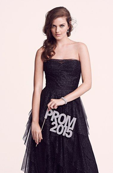 Love this glitter dress for prom