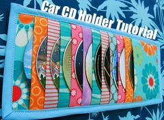 Car CD organizer