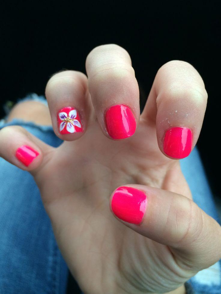 252 best hawaiian nail designs images on Pinterest ...