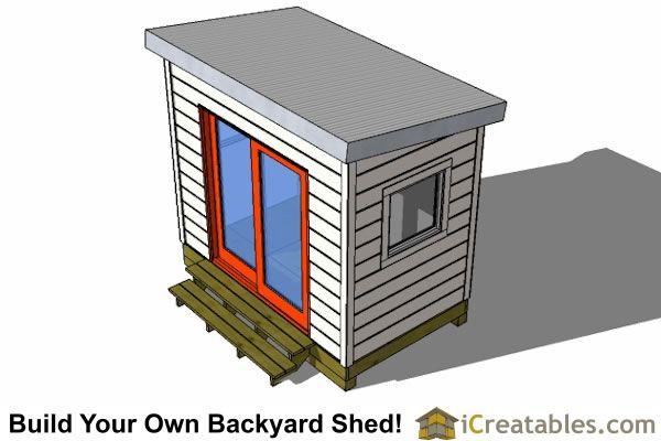 6x8 shed plan top