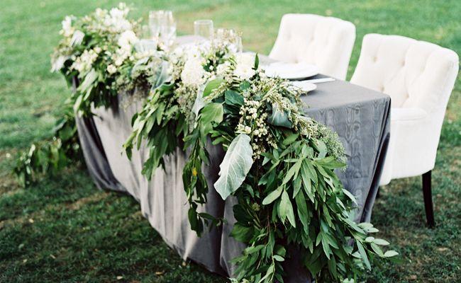 13 Genius Places To Hang A Wedding Garland.