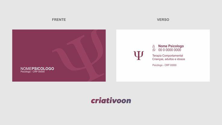 cartão de visita psicologia