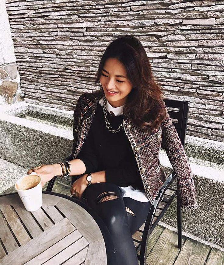 """62 Likes, 16 Comments - Laparisienne.me 巴黎小貴婦 (@laparisienne.me) on Instagram: """"❤️❤️超愛貴婦風的粗花毛呢外套🔜 http://bit.ly/2gjIVk2…"""""""