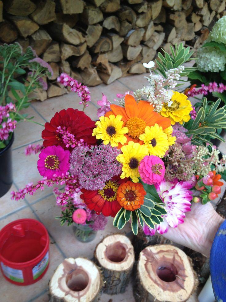 Wedding flowers Lyme NH