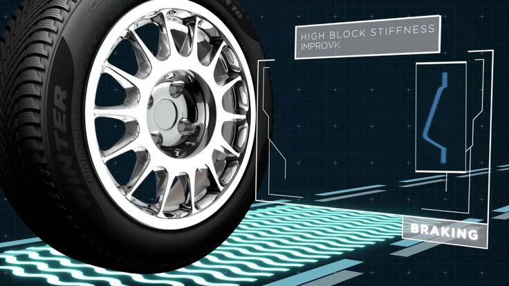 New Pirelli Cinturato Winter, Multi active sipes