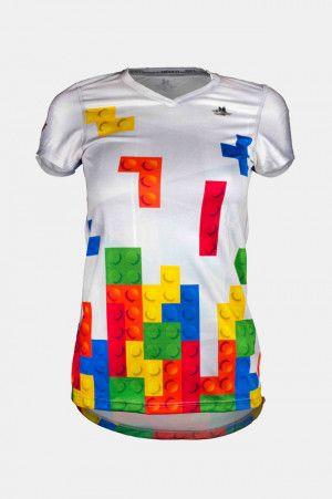 Blusas Deportivas para Mujer Triferrari Tetris. Para ver todos nuestros modelos de#Blusas#Deportivas#Mujerque tenemos con descuento y envio a todo#Mexicopuedes darle click en el link y checar los mas de 60 modelos que tenemos de#playerasdeportivaspara mujer.