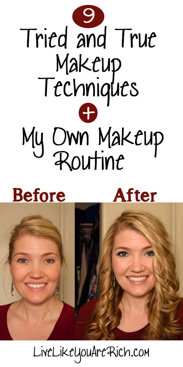 9 Tried and True Makeup Techniques + My Own Makeup Routine #LiveLikeYouAreRich