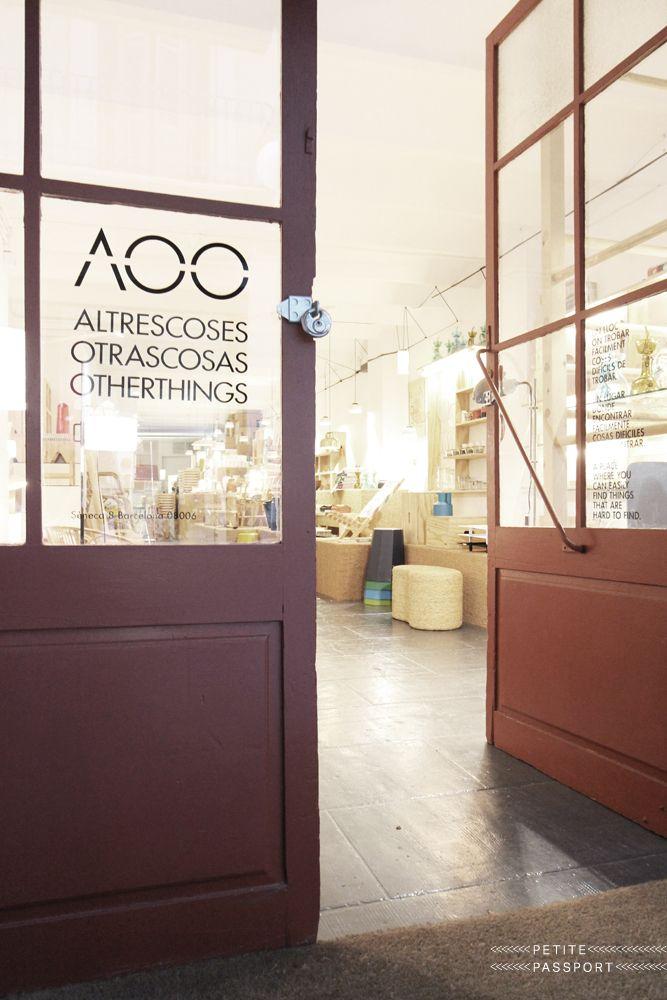 Otras Cosas Barcelona by Petite Passport #designshop #barcelona