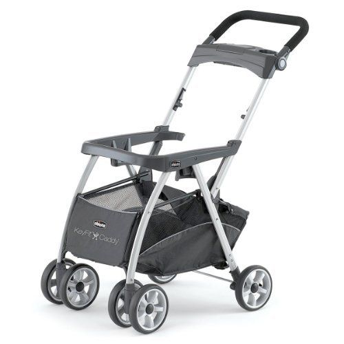 I didn't buy the stroller caddy at first; didn't think I'd use it because I had a BoB. Well let me tell you, its been a lifesavor! You don't have to unstrap, wake-up and pull out the baby. You just click the carseat right in. It's amazing.