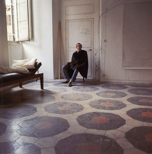 Cy Twombly #tile #floors