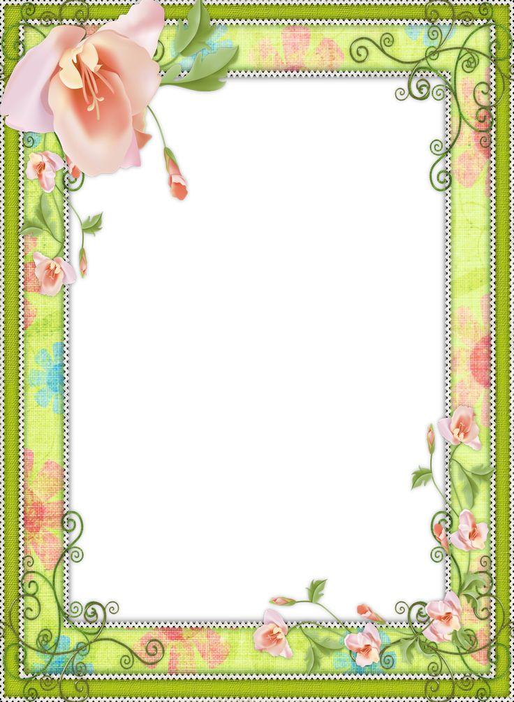 light green transparent flower frame yazi fonlari pinterest flower frame. Black Bedroom Furniture Sets. Home Design Ideas