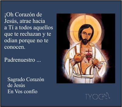 MIS PROPÓSITOS : 19° DÍA DEL MES DEL SAGRADO CORAZÓN DE JESÚS