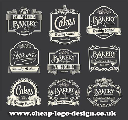 Retro Style Cake And Bakery Labels And Logo Ideas Www Cheap Logo
