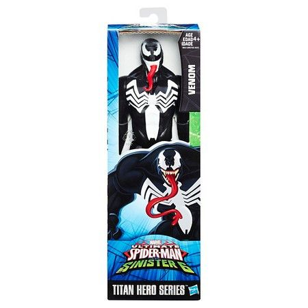 Marvel Ultimate Spider-Man Sinister 6 Titan Hero Series Venom