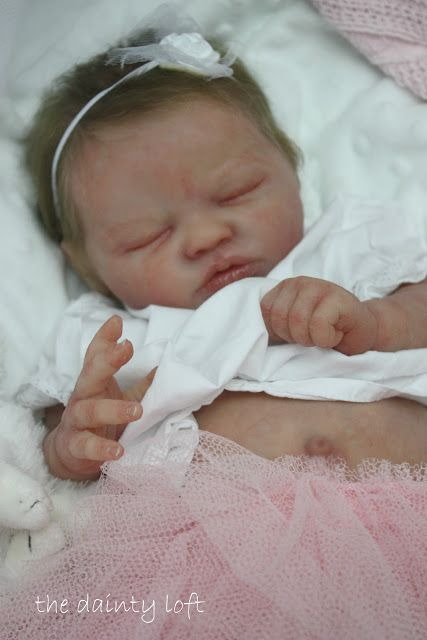 the dainty loft: July 2012 Silicone Claire Brown REBORN ~ painted by ' the dainty loft '. A baby by me
