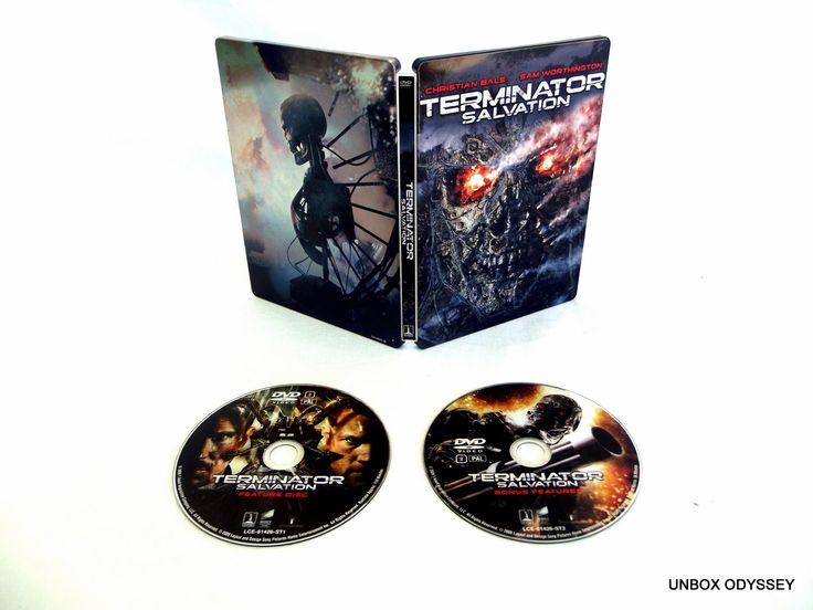 Terminator Salvation - Steelbook Unboxing