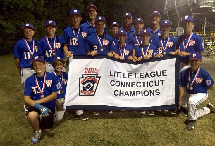 Waterford Captures 1st Little League State Title In 40 Years Little League Little League Baseball State Champs