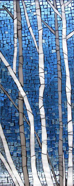 Birch Tree's by Emerald Dragon (Kathleen), via Flickr