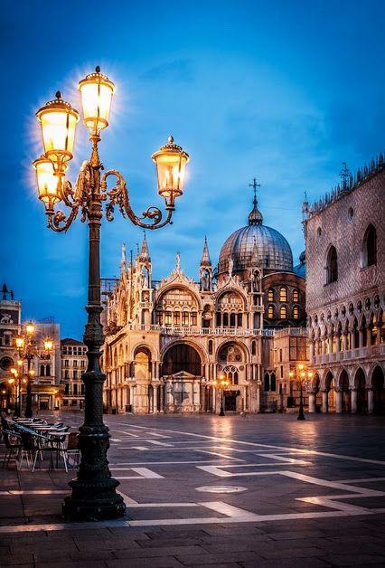 Площадь Сан-Марко Венеция, Италия