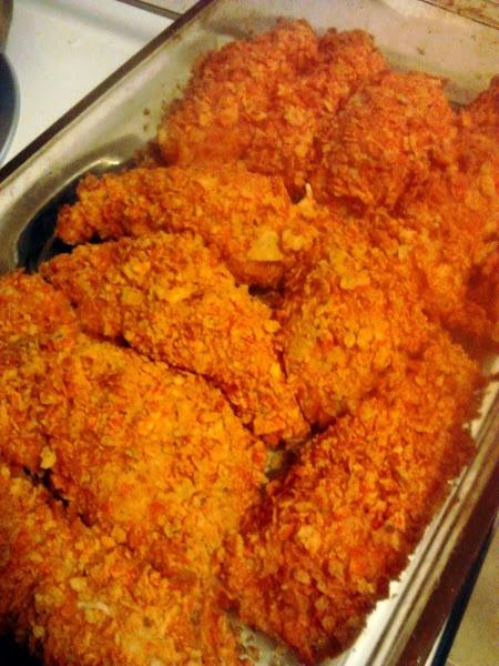 how to make dorito chicken
