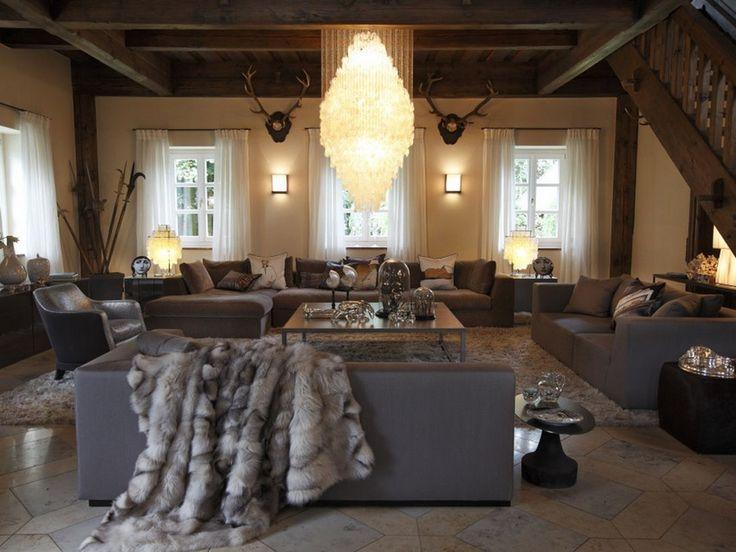 519 best Inspiring Interieurs images on Pinterest Living room - esszimmer modern luxus