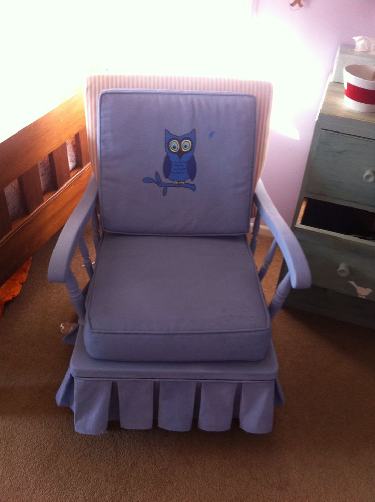 50c for the chair and home made chalk paint...