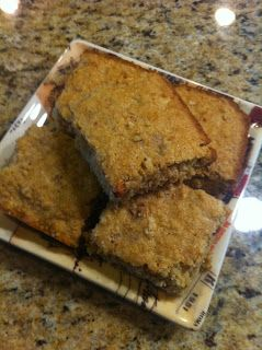 Niki Cooks for Interstitial Cystitis: Maple Oatmeal Bars