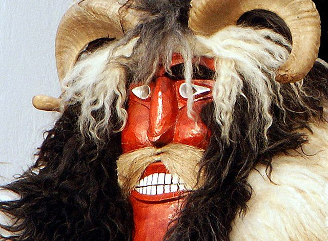 "Traditional Buso mask - an important ingredient of Mohács ""Busójárás"""