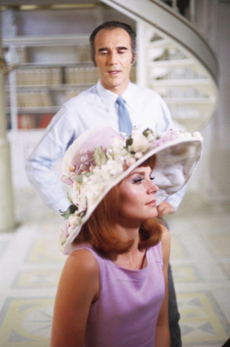 Michel Piccoli and Françoise Dorléac in Les demoiselles de Rochefort directed by Jacques Demy, 1967