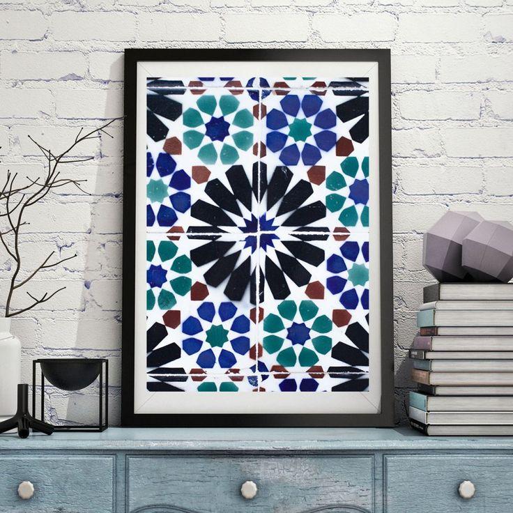 Plakat BAIXA BLUEBELL. Portugalskie wzornictwo A2 - Wzory Portugalii (sprzedawca: Wzory Portugalii), do kupienia w DecoBazaar.com