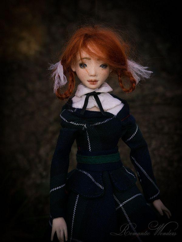 Art doll ''Vivienne'' BJD Ooak by Romantic Wonders