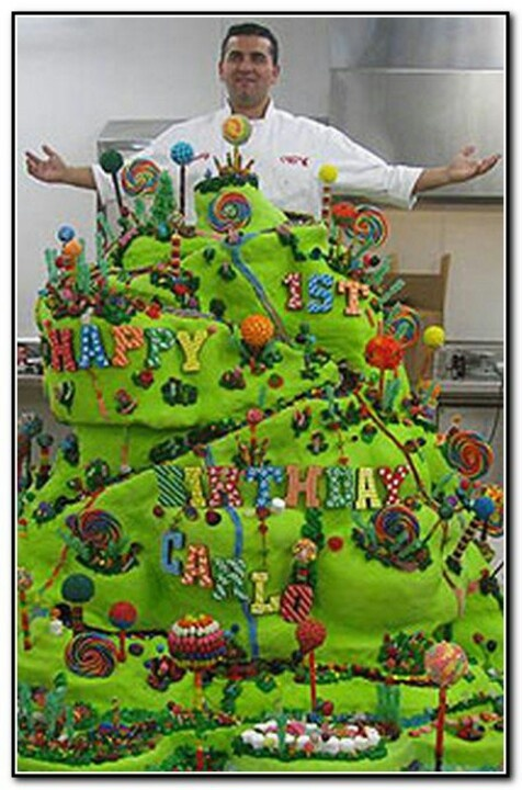 Cake Boss Party Ideas - Candy Pinterest Birthdays ...