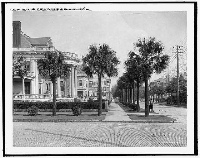 Residences, corner [of] Laura and Ashley Sts., Jacksonville, Fla.