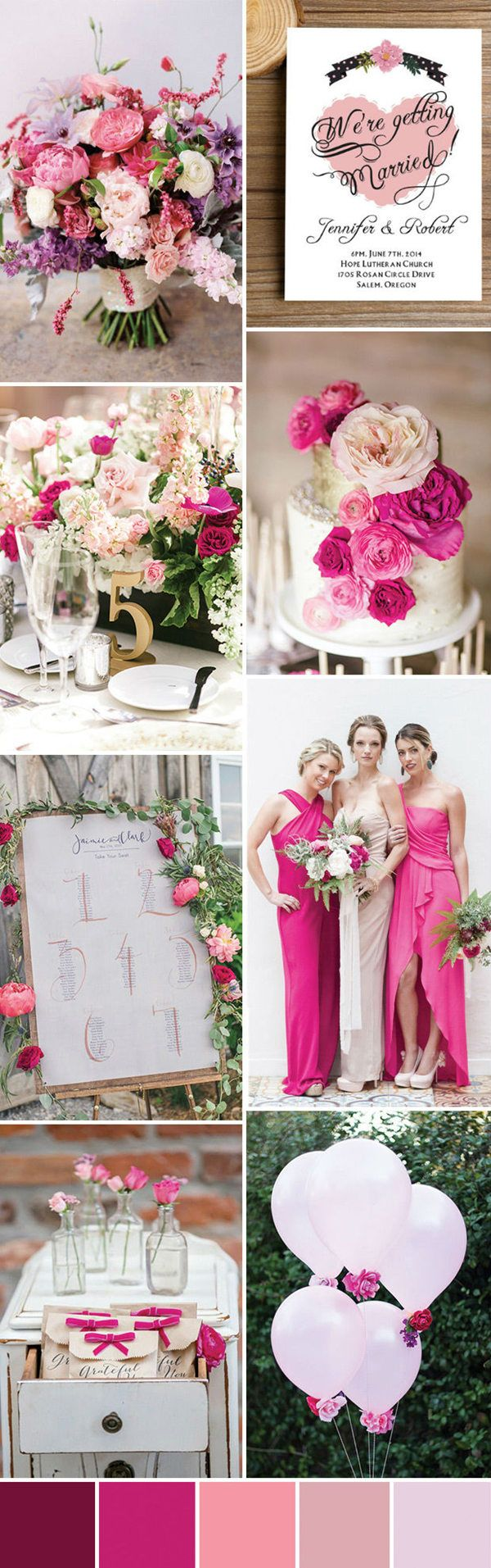 romantic blush pink wedding ideas you'll love