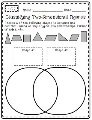Common Core Math {Outside Of The Box}. Math Pages4th Grade ...