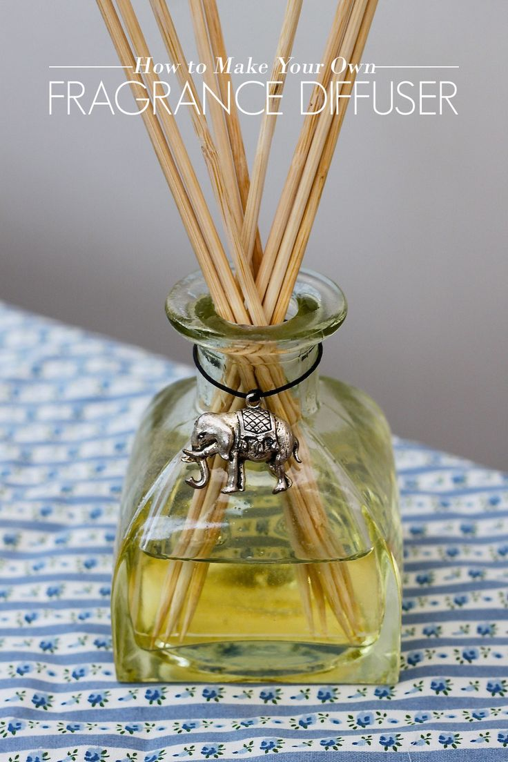 How to Make Your Own Fragrance Diffuser