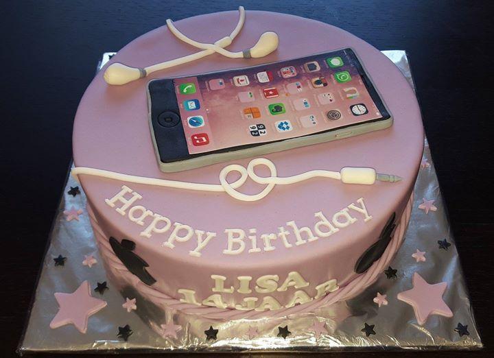 Iphone taart